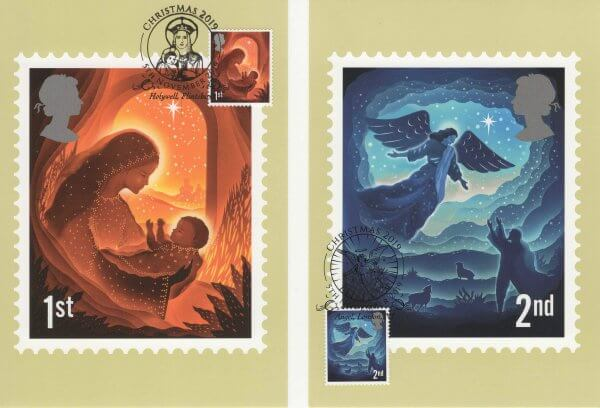 Christmas 2019 Stamp Cards Front image 1