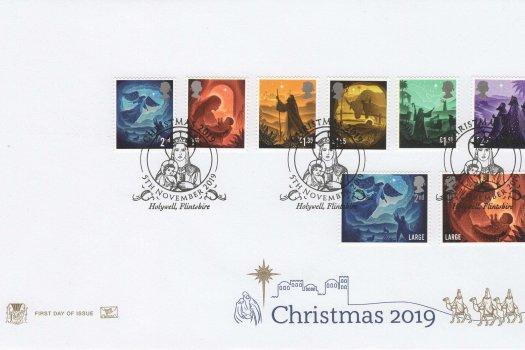 Stuart Christmas 2019 FDC