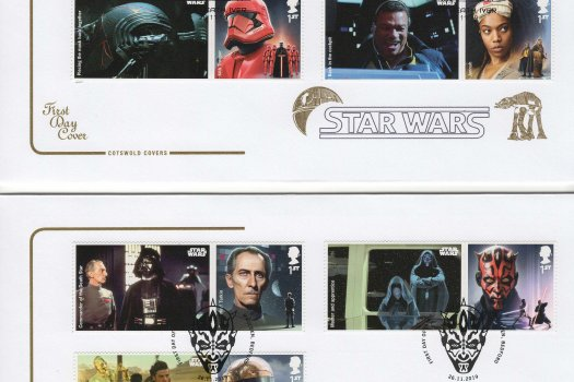 Cotswold Star Wars Generic Sheet FDC