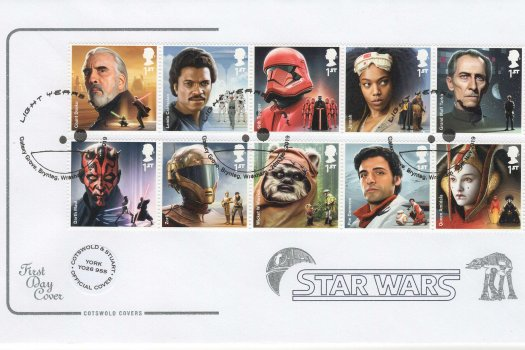 Cotswold Star Wars Official FDC