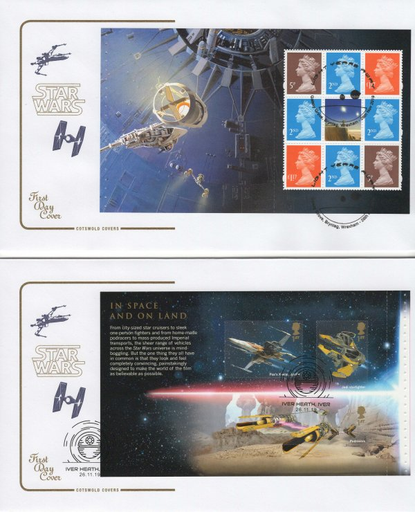 Cotswold Star Wars PSB FDC