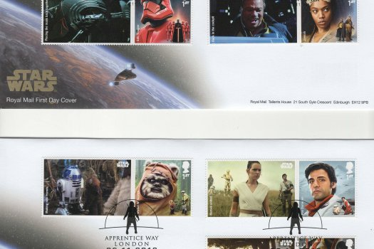 RM Star Wars Generic Sheet FDC