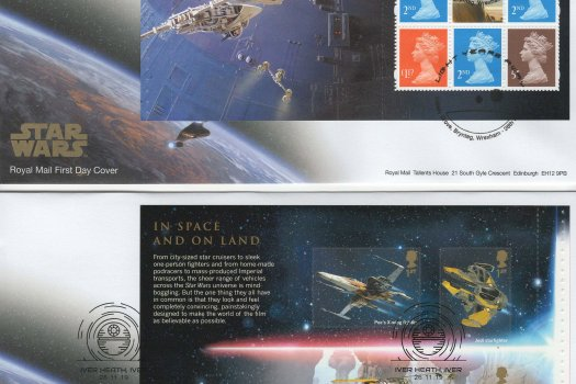 Royal Mail Star Wars PSB FDC image 1