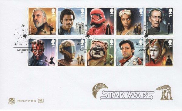 Stuart Star Wars FDC