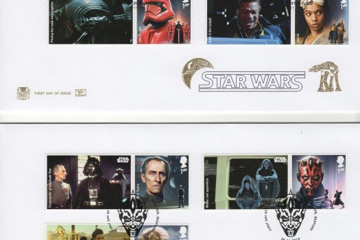 Stuart Star Wars Generic Sheet FDC
