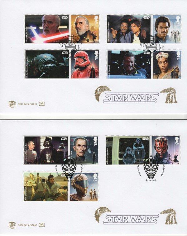 Stuart Star Wars Generic Sheet FDC