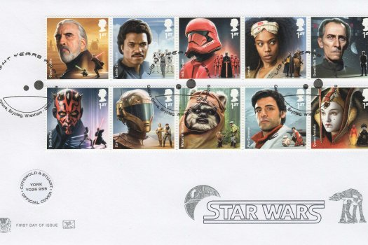 Stuart Star Wars Official FDC