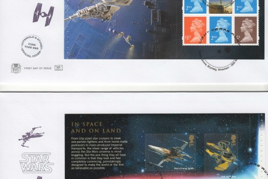 Stuart Star Wars PSB Official FDC