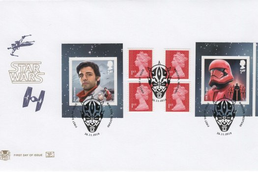 Stuart Star Wars Retail Booklet