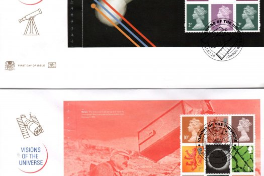 C&S Visions of the Universe PSB FDC (slightly damaged) image 1
