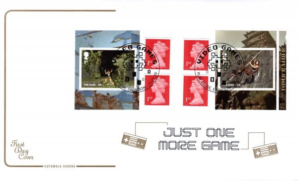 Cotswold Video Games Retail Booklet FDC