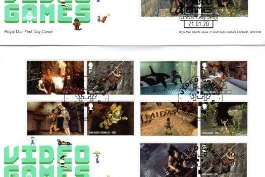 Royal Mail Video Games Generic Sheet FDC