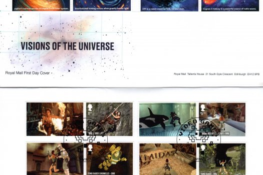 Royal Mail Visions of the Universe FDC