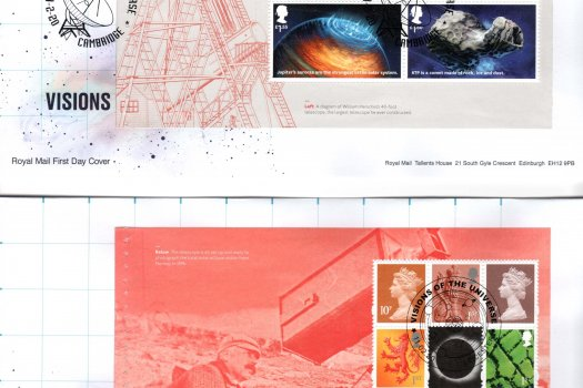 Royal Mail Visions of the Universe PSB FDC image 1