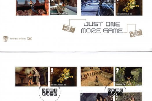 Stuart Video Games Generic Sheet FDC image 1
