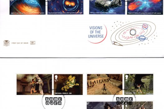 Stuart Visions of the Universe FDC