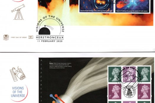 Stuart Visions of the Universe PSB FDC image 2