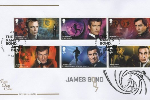 Cotswold James Bond FDC