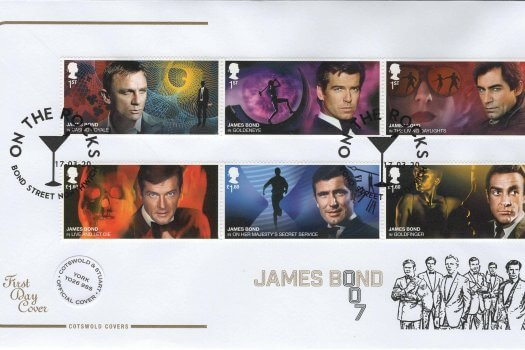 Cotswold James Bond Official FDC