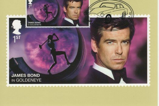 James Bond Stamp Cards image 1