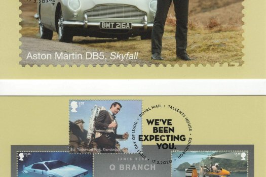 James Bond Stamp Cards image 4