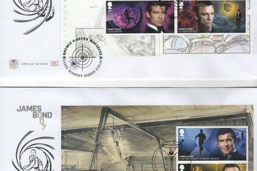 Stuart James Bond PSB FDC image 1