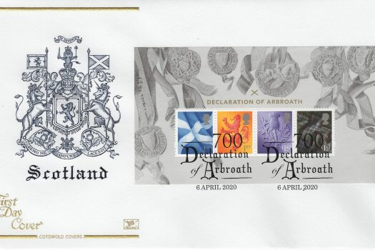 Cotswold Declaration of Arbroath MS FDC
