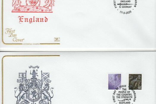 Cotswold Regional Definitive 2020 FDC image 1