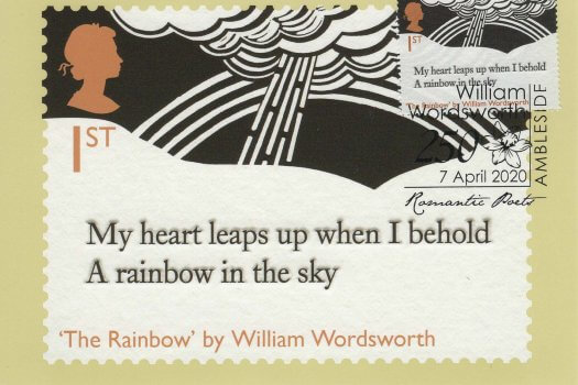 Romantic Poets Stamp Cards image 1