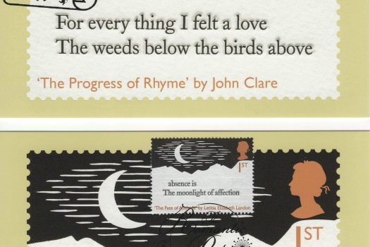 Romantic Poets Stamp Cards image 3