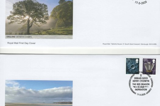 Royal Mail Regional Definitive 2020 FDC image 1