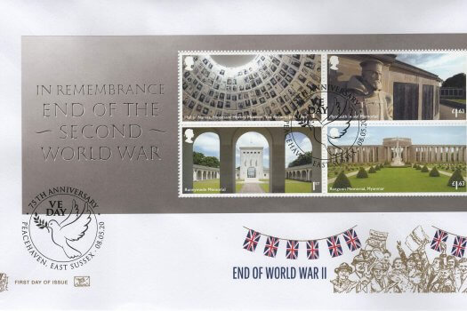 Stuart End of WW2 MS FDC