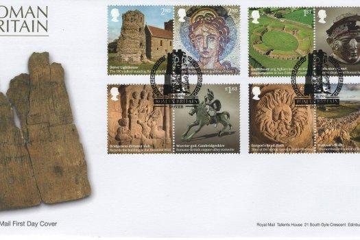 Royal Mail Roman Britain FDC