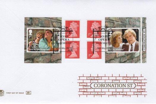 Stuart Coronation Street Retail Booklet FDC