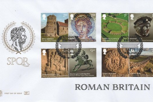 Stuart Roman Britain FDC