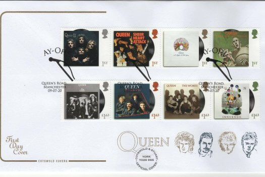 Cotswold Queen Official FDC