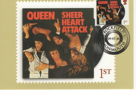 Queen Stamp Cards image 1