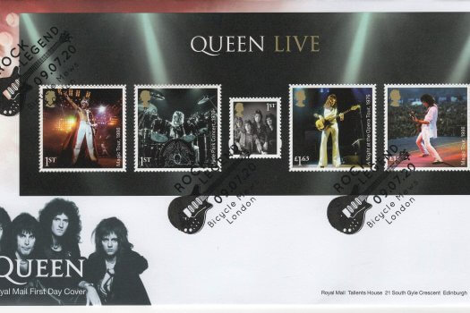 Royal Mail Queen Minisheet FDC