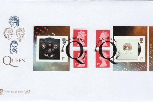 Stuart Queen Retail Booklet FDC