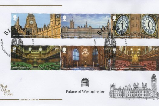 Cotswold Palace of Westminster FDC