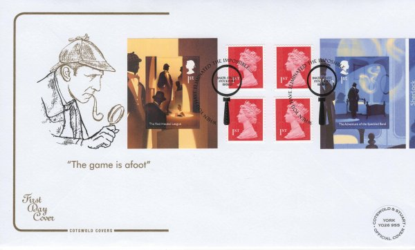 Cotswold Sherlock Retail Booklet Limited Edition FDC