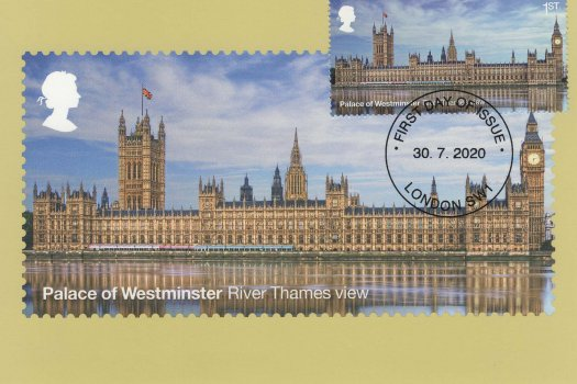 Palace of Westminster Stamp Cards image 1