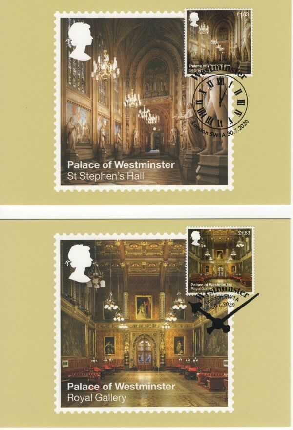 Palace of Westminster Stamp Cards image 4