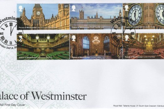 Royal Mail Palace of Westminster FDC
