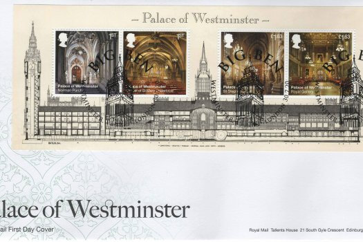 Royal Mail Palace of Westminster MS FDC