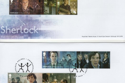 Royal Mail Sherlock Generic Sheet FDC image 1