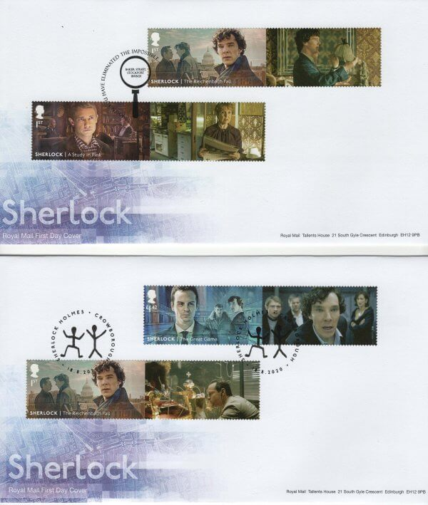 Royal Mail Sherlock Generic Sheet FDC image 1