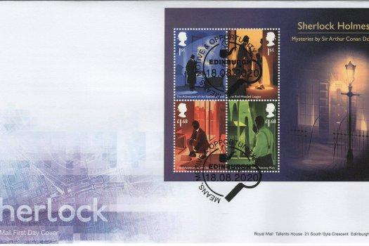 Royal Mail Sherlock MS FDC