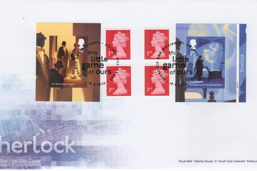 Royal Mail Sherlock Retail Booklet FDC