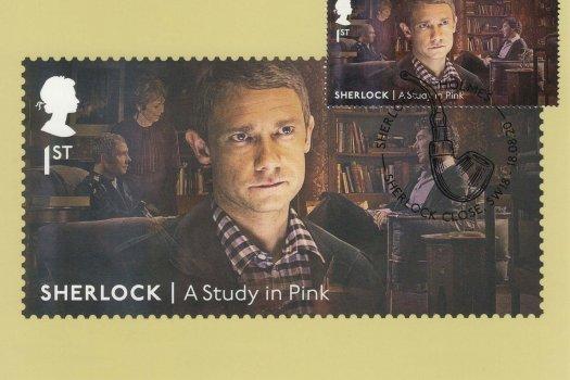 Sherlock Stamp Cards image 1
